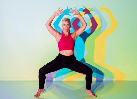 Yoga Kelly Whalen colored gels