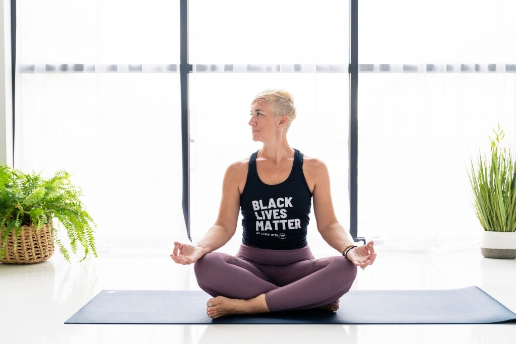 athlete yoga
