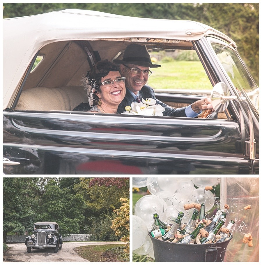 Gatsby Themed Wedding in Paoli, PA