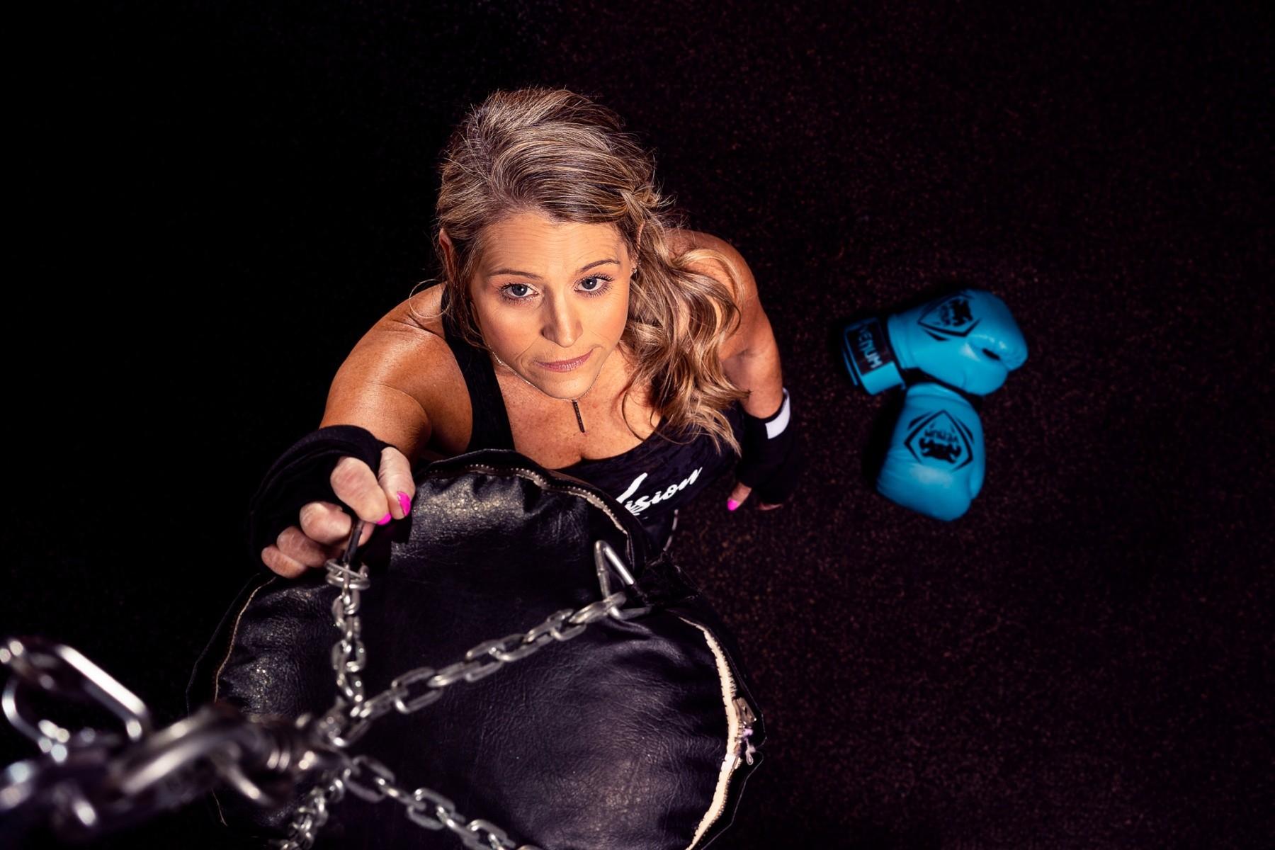 Female Boxer Theresa Fackler