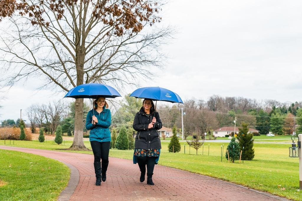 Working rain or shine as real estate agents