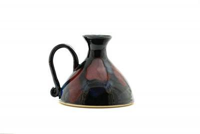 dancing flame pottery lamp